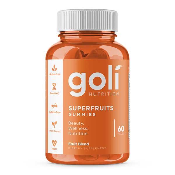 GOLI SUPERFRUITS GUMMIES 60 PIECES