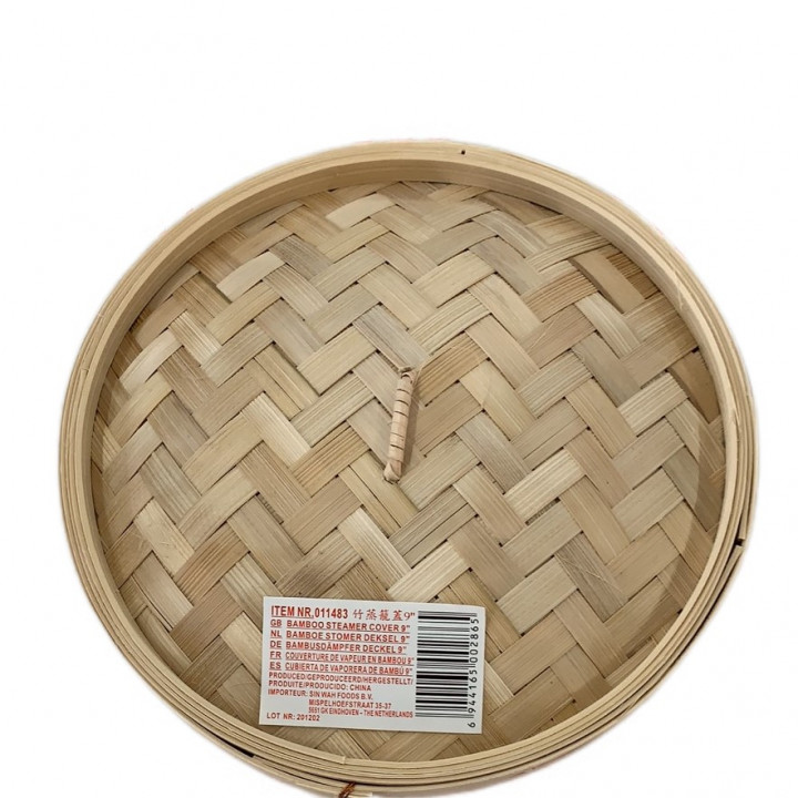 BAMBOO STEAMER COVER 9 INCHES