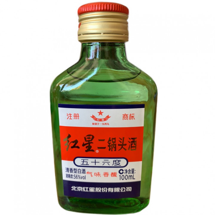 ER GUO TOU SPIRIT DRINK 56% Vol 100ml