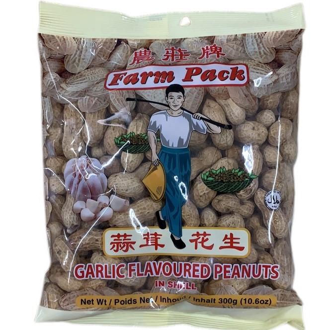 FARM PEANUTS / GARLIC / 300 g