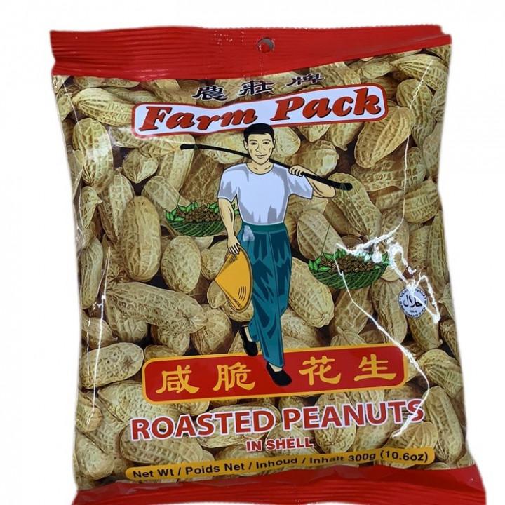 FARM PEANUTS / ROAST SALTED / 300 g