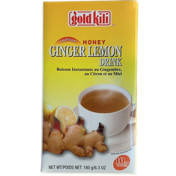 GK HONEY JINGER LEMON DRINK 18*10g