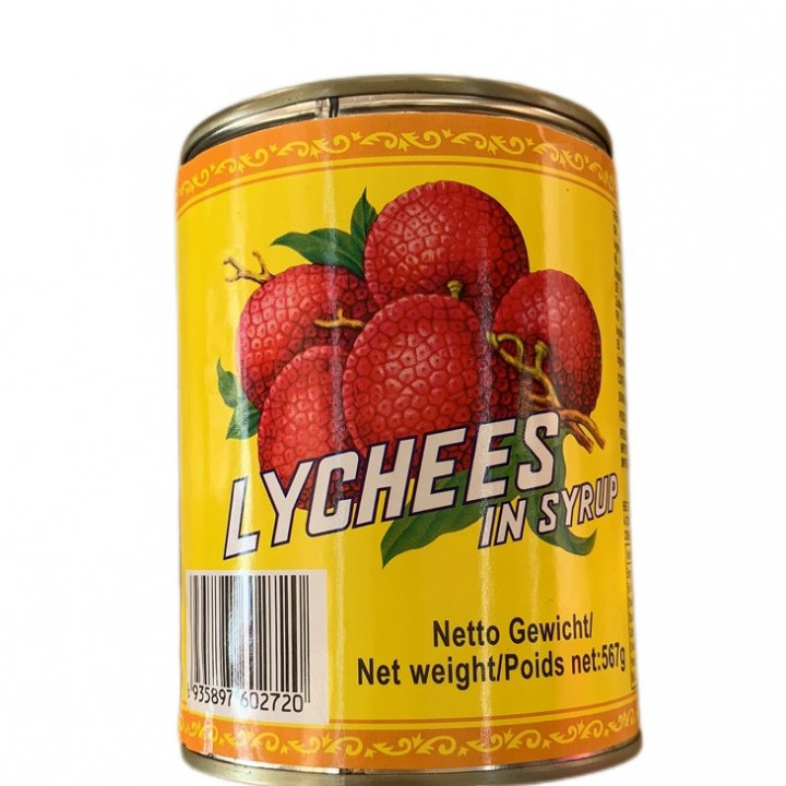 GL LYCHEES 567 g