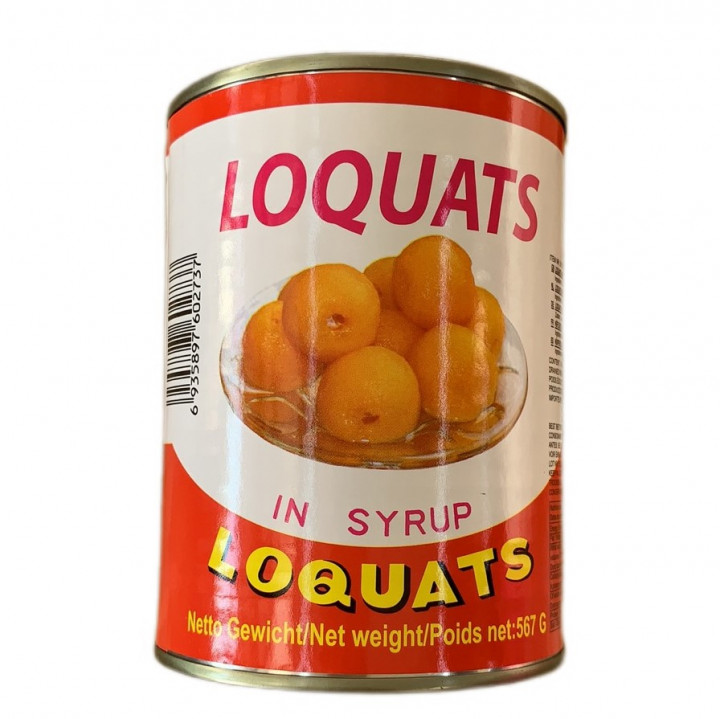 GL LOQUATS IN SYRUP 567 g