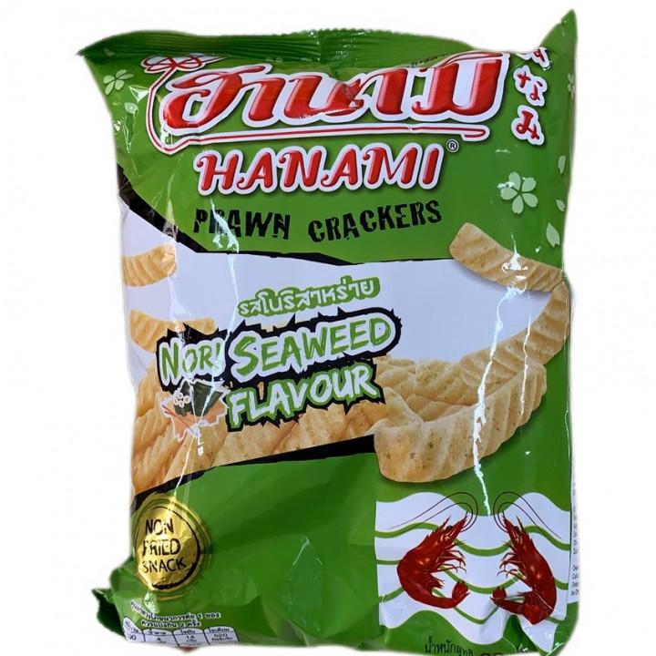 HANAMI PROWN CRACKER / SEAWEED / 60G