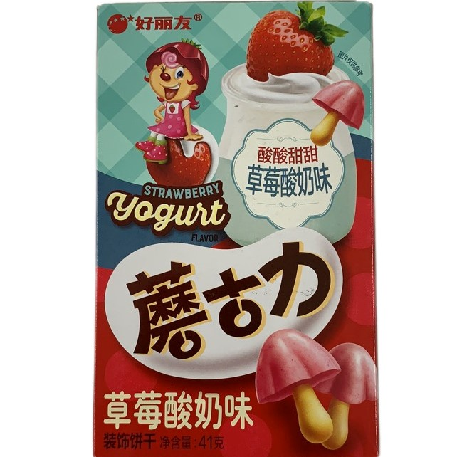 HLY BUICUIT / STRAWBERRY / 48G