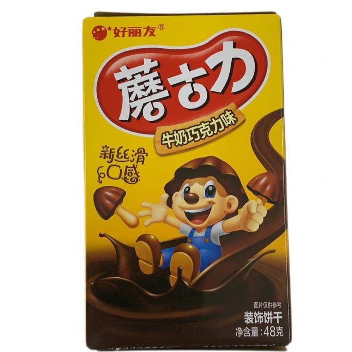 HLY BUICUIT / MILK CHOCOLATE / 48G