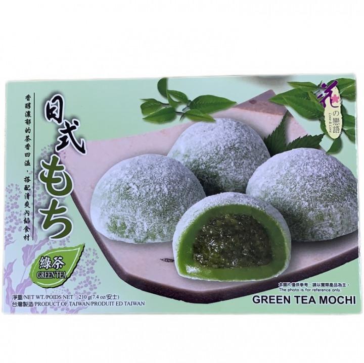 HUA MOCHI / GREEN TEA MATCHA / 210G / PACK