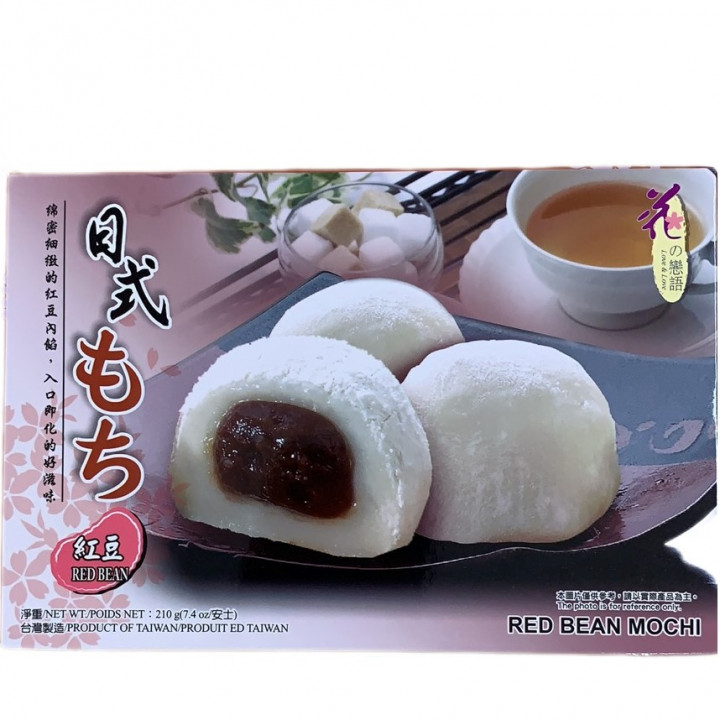 HUA MOCHI / RED BEANS / 210G / PACK