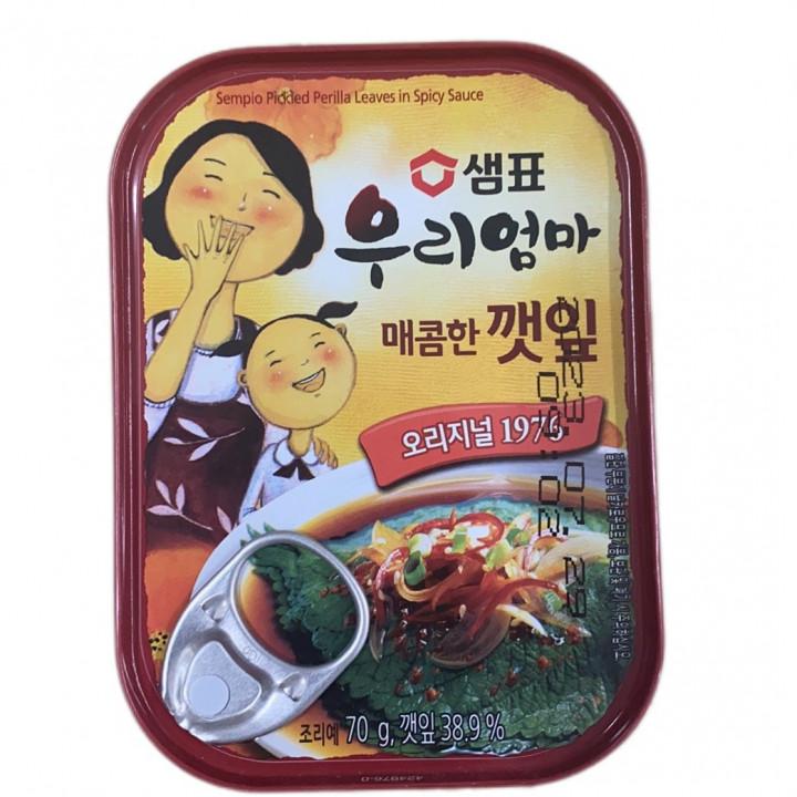 KOREA SESAME LEAVES HOT 70g