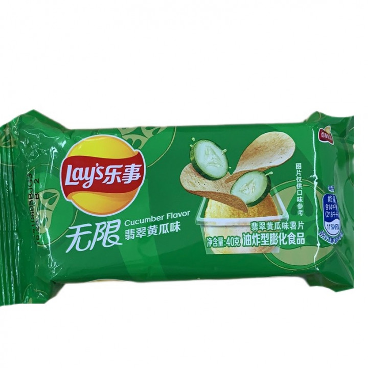 LAY'S CHIPS / CUCUMBER FL.