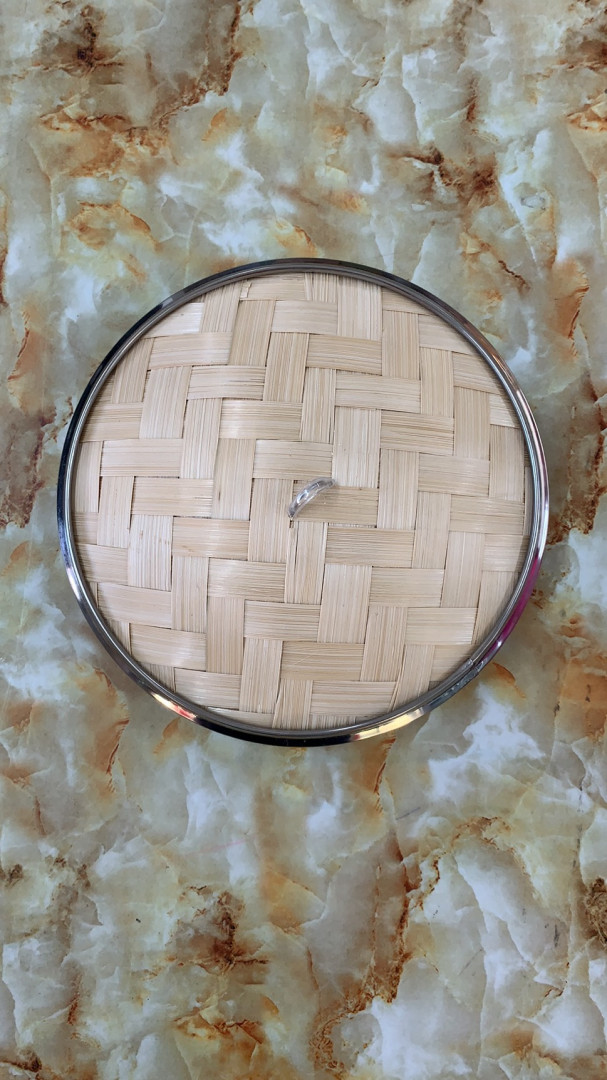 ME BAMBOO STEAMER COVER 9 INCHES