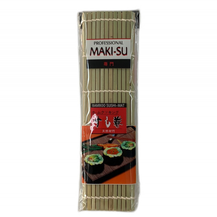 PROFESSIONAL BAMBOO SUSHI MAT 27*27cm