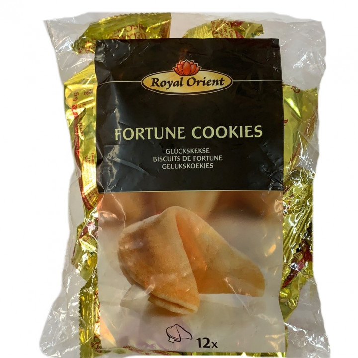 RO FORTUNE COOKIES 6 G * 12 PCS