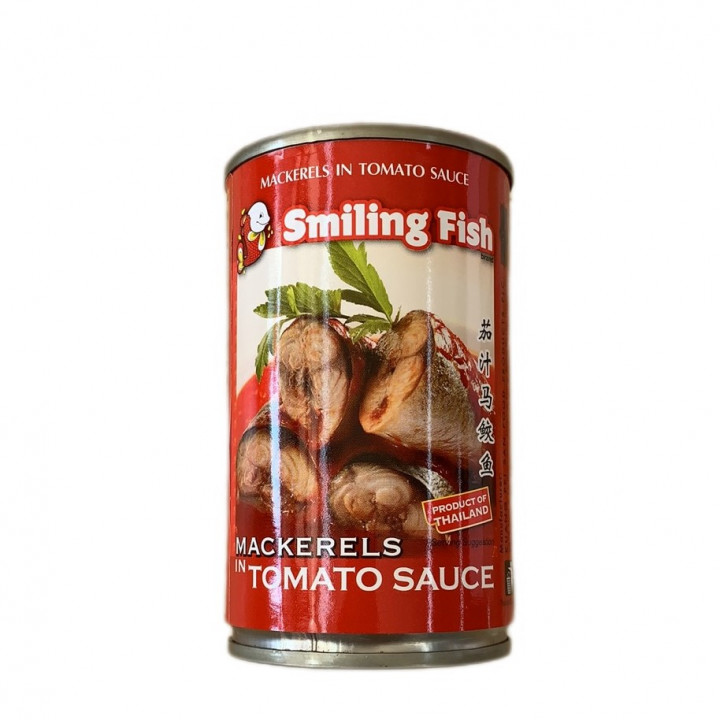 SF MACKERELS IN TOMATO SAUCE 155 g