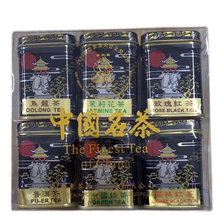 THE FINEST TEA OF CHINA 6 TYPES *28 g