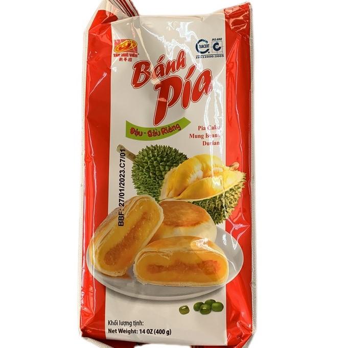 XHY PIA CAKE / MUNG BEANS DURIAN / 100G*4