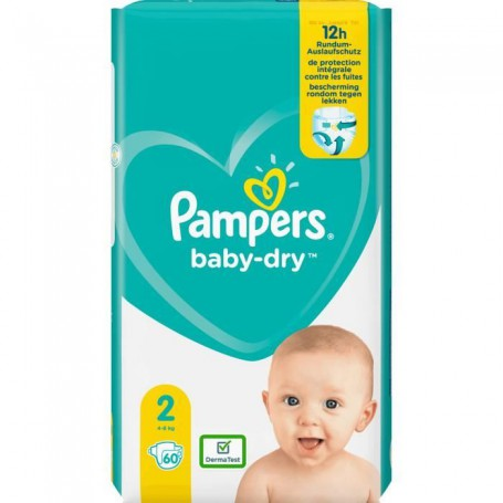 Pambers Size 2 60 diapers