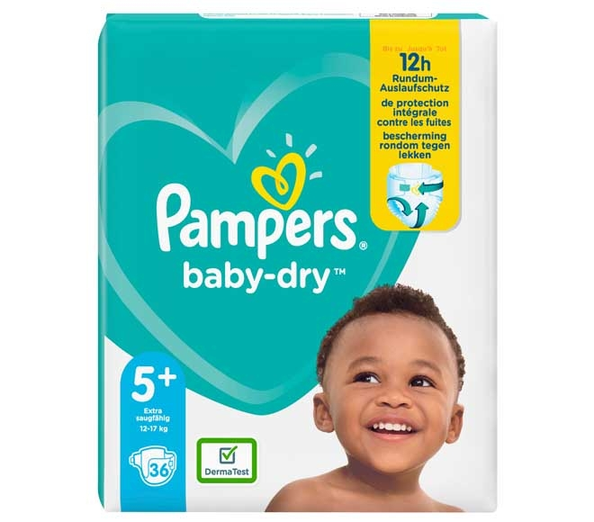 Pambers Size 5+ 36 diapers