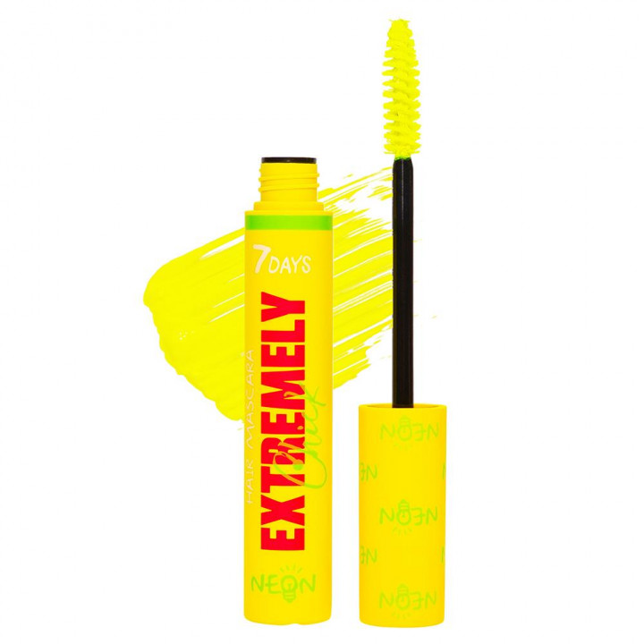 7DAYS EXTREMELY CHICK HAIR MASCARA UV NEON 602 INSPIRE VOGUE
