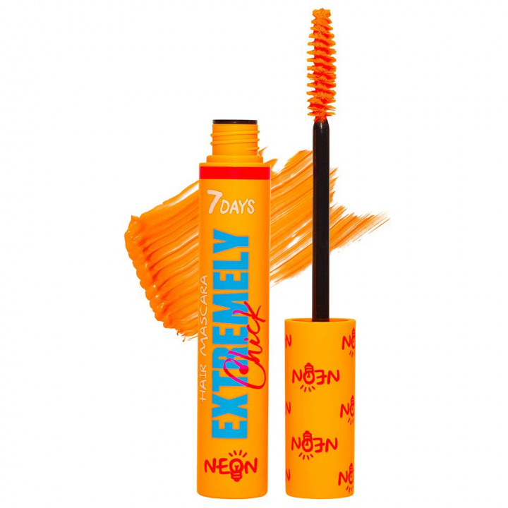 7DAYS EXTREMELY CHICK HAIR MASCARA UV NEON 603 MISS ME