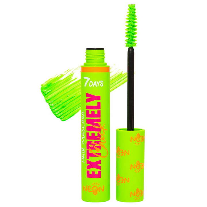 7DAYS EXTREMELY CHICK HAIR MASCARA UV NEON 604 CLUB
