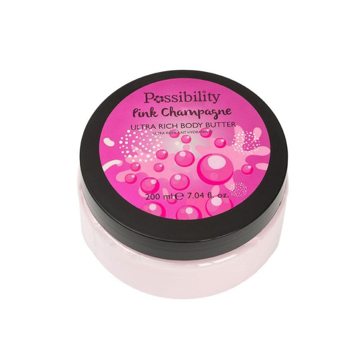POSSIBILITY PINK CHAMPAGNE SORBET BODY BUTTER 200ML