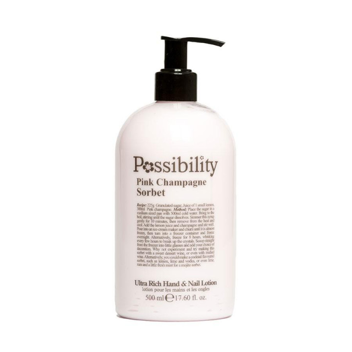 POSSIBILITY PINK CHAMPAGNE SORBET BODY LOTION 500ML