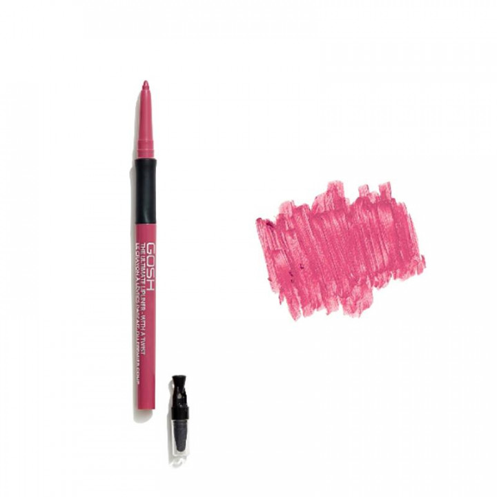 GOSH COPENHAGEN THE ULTIMATE LIP LINER WITH A TWIST  004 THE RED
