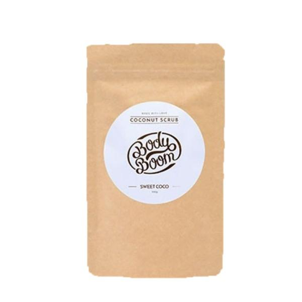 BODY BOOM COFFEE SCRUB SWEET COCO 100G