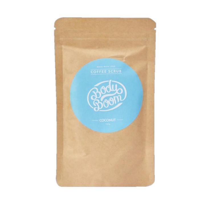 BODY BOOM COFFEE SCRUB COCONUT 100G