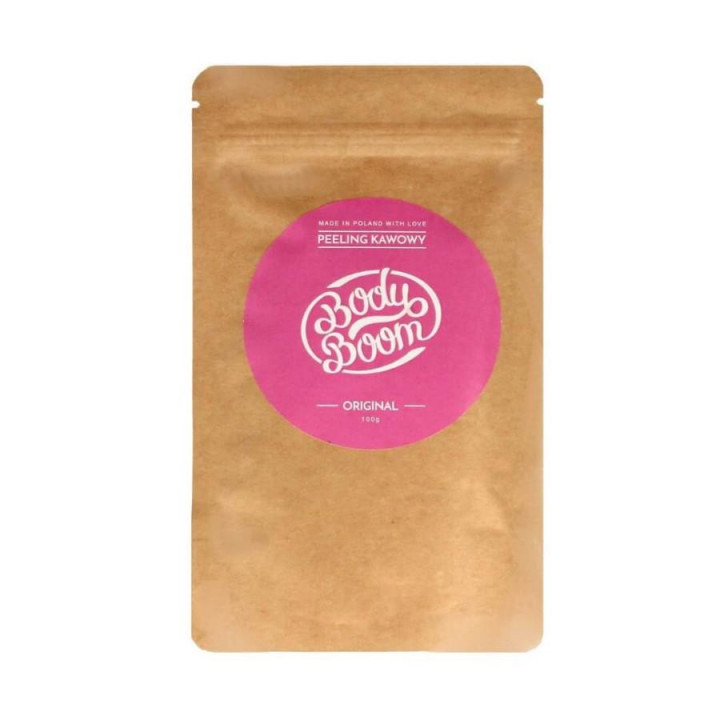 BODY BOOM COFFE SCRUB ORIGINAL 100G