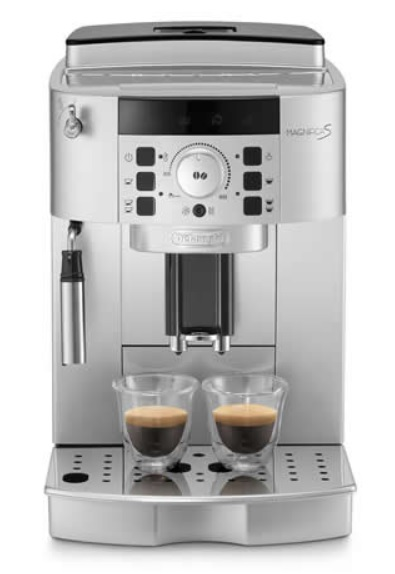 Delonghi ECAM22.110.SB Magnifica Fully Automatic Coffee Maker, Silver