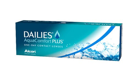 dailies Aquacomfort (30) Contact Lenses -4.5