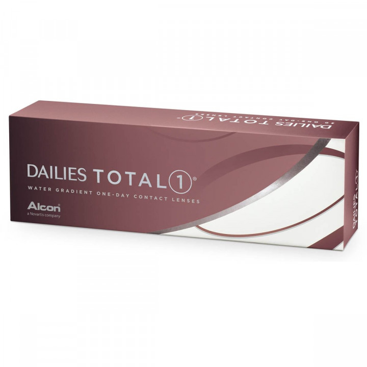 dailies Total1 (30) Contact Lenses -1.25