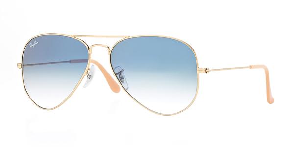 Ray Ban 001/3f 58x14 sunglasses