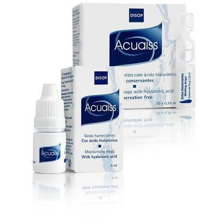 ACUAISS EYE DROPS 15ml  one bottle natural tears