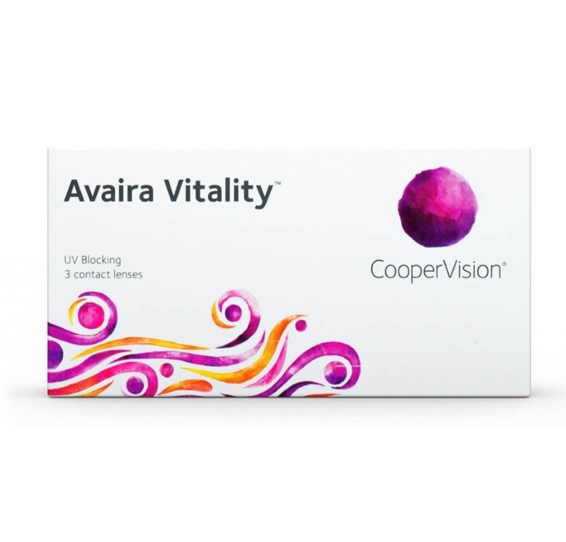 Avaira Vitality(3) Contact Lenses -2.25