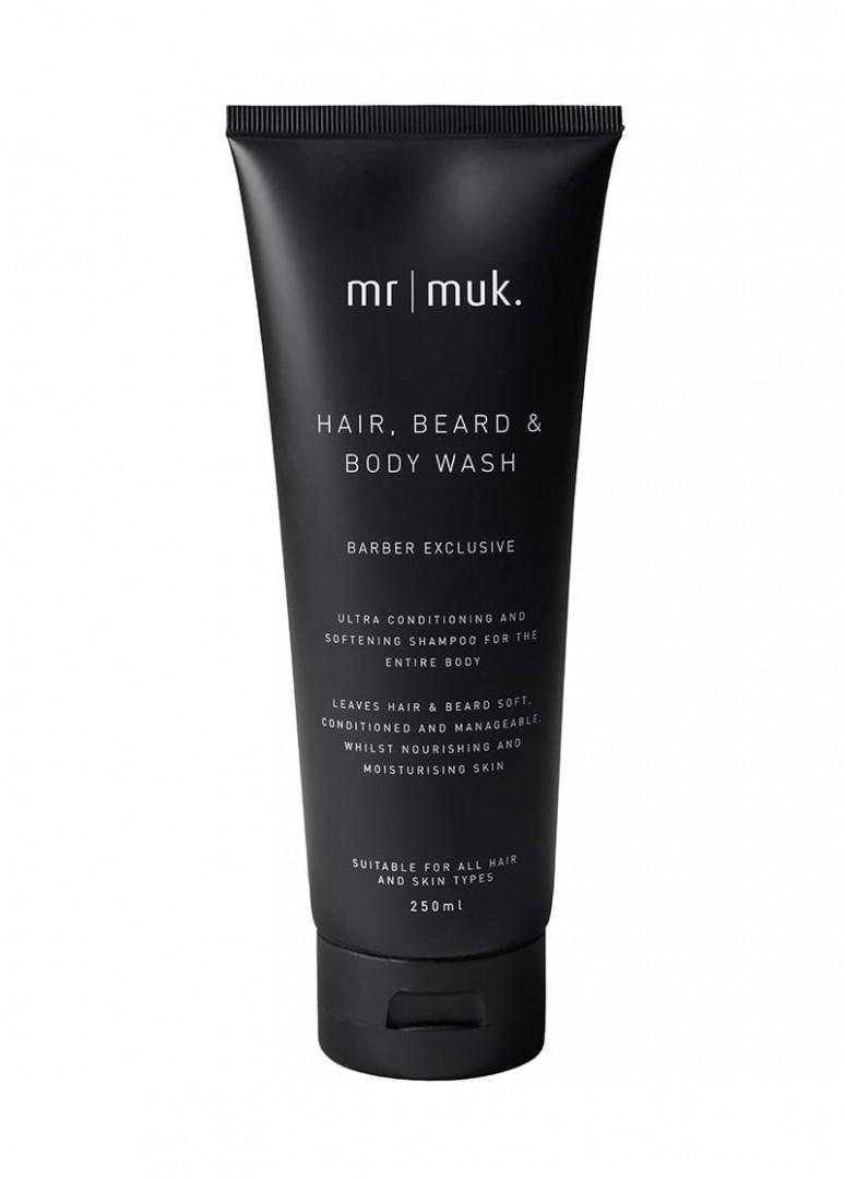 MR MUK HAIR, BEARD & BODY WASH 250ml