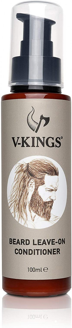 V Kings Beard Conditioner Leave In Conditioner and Hair Beard 100ml