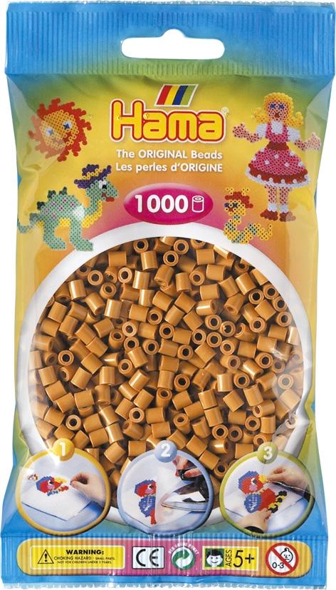 Hama bag of 1000 - Light Brown