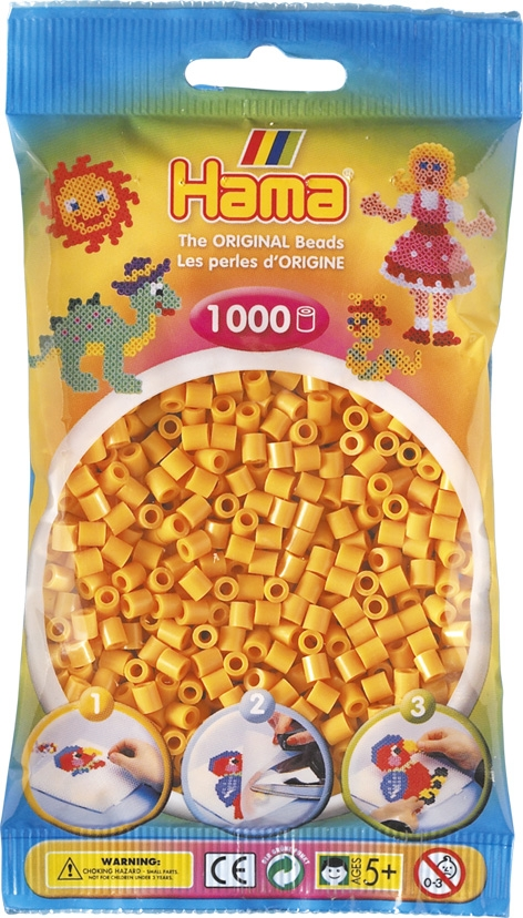 Hama bag of 1000 - Teddybear Brown