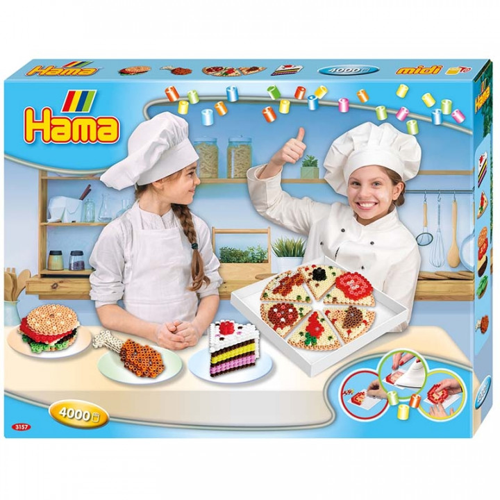 Hama Beads Snack Box Gift Set
