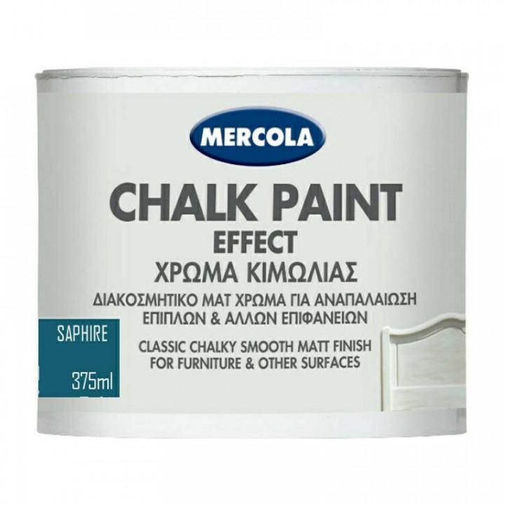 Chalk Paint 375ml Mercola - Sapphire