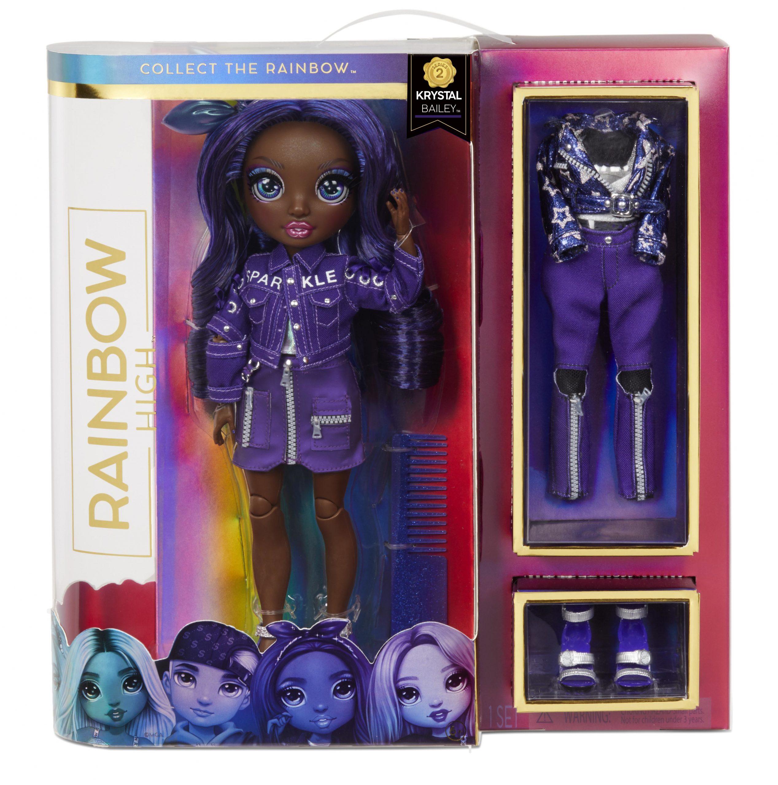 Rainbow High Fashion Doll - Krystal Bailey