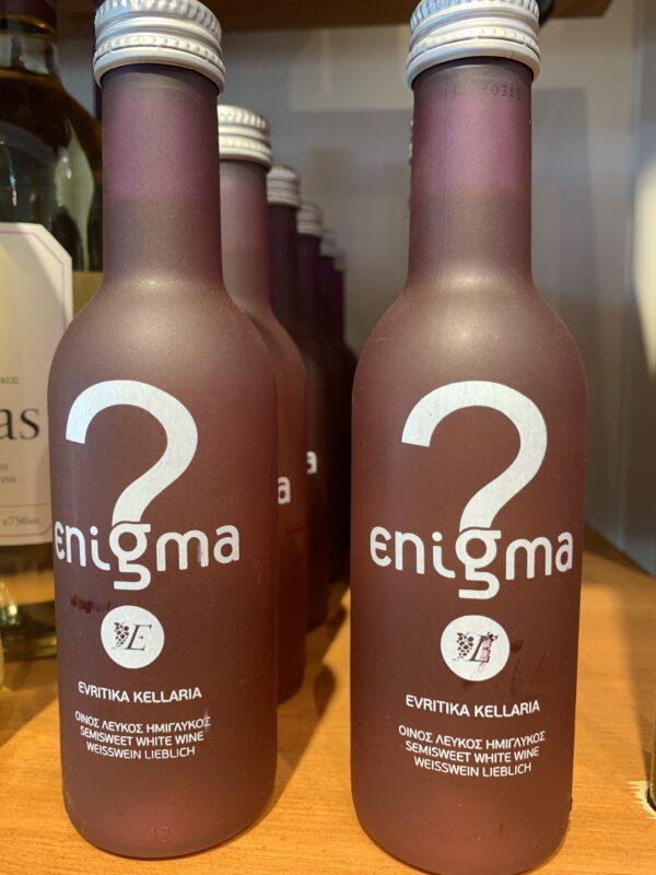 Semisweet White Wine Enigma