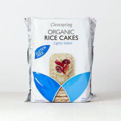Organic Rice Cakes (Lightly Salted)130G