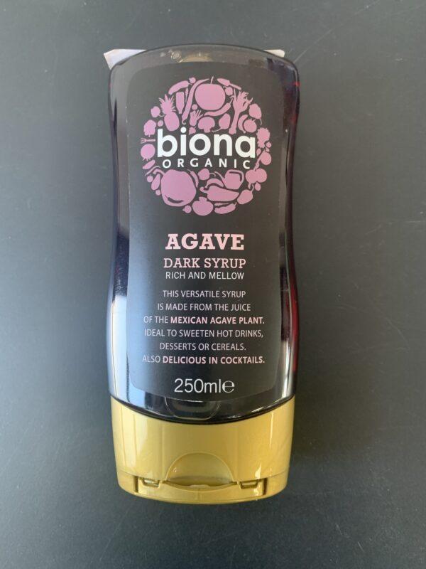 Agave Dark Syrup 250Ml