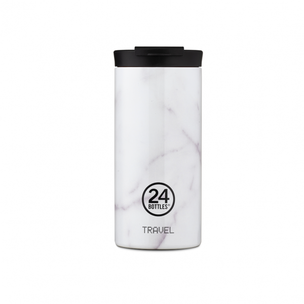 TRAVEL TUMBLER 600ML CARRARA