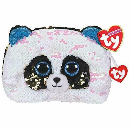 TY SEQUIN SMALL BAG PANDA BAMBOO